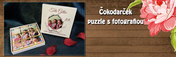 Čokodarček – puzzle s fotografiou