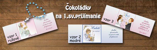 Čokoládky – prvé sväté prijímanie