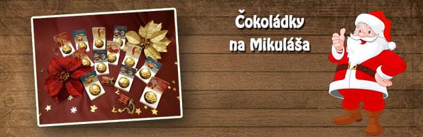 Čokoládky s Mikuláškom
