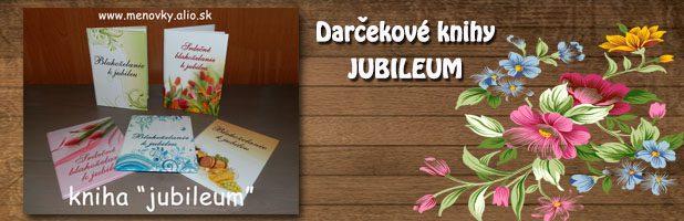 Darčekové knihy-jubilem