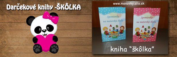 Darčekové knihy-škôlka
