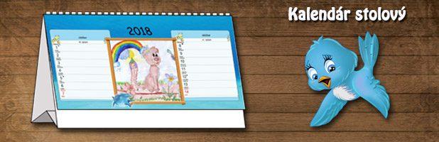 Fotokalendár stolový
